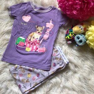 Girls 5t pajamas PJ set